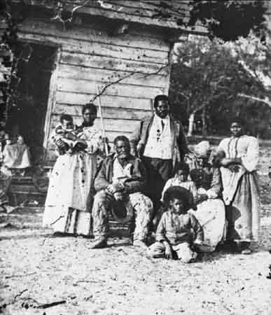 slave family